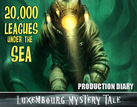 Luxembourg Mystery Tale – Production Diary 13 (UK)