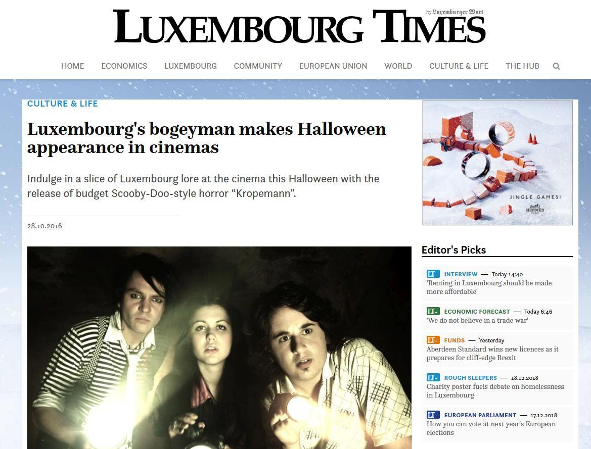 Filmkritik : D'Jessica Bauldry (Luxembourg Times) wor sech de Kropemann ukucken